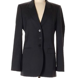 HUGO BOSS Pin Stripe Wool Blazer